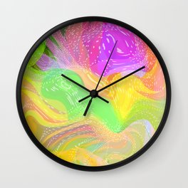 Summer Party Fun Time  Wall Clock