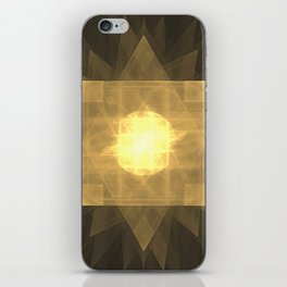 Spirit of the Golden Phoenix iPhone Skin