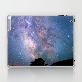 The Night Sky II - glowing stars Laptop & iPad Skin