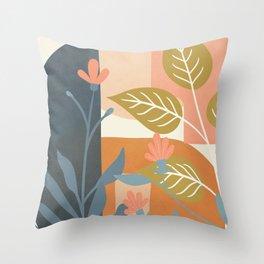 Elegant Shapes 09 Throw Pillow