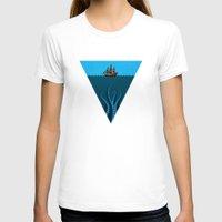 kraken T-shirts featuring Kraken by BS Designs