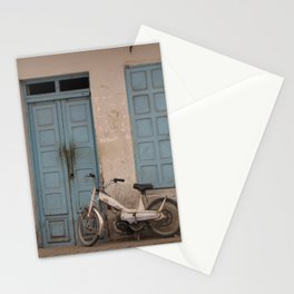 """Tunisian Moped"" Photo by Noora Elkoussy Stationery Cards"
