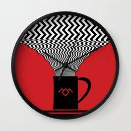 Twin Peaks, Damn Good Coffee Wall Clock