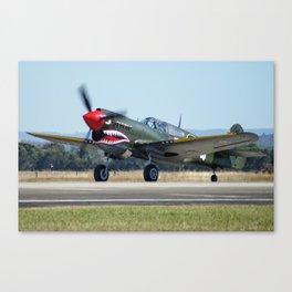 VH-ZOC Curtiss P-40N Warhawk Canvas Print