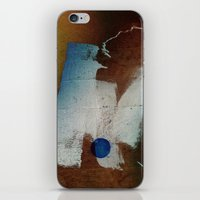 butt iPhone & iPod Skins featuring a butt by ONEDAY+GRAPHIC