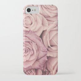 Some People Grumble - Pink Rose Pattern - Roses Garden iPhone Case