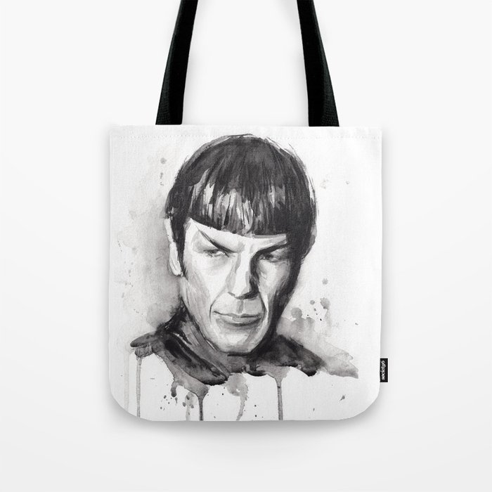 Spock Star Trek Tote Bag