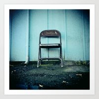 outdoor Art Prints featuring Outdoor seating by Vorona Photography
