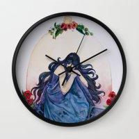 scorpio Wall Clocks featuring Scorpio by BlindEyeArtist