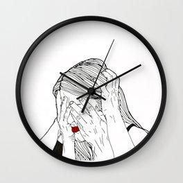 Introvert 2 Wall Clock