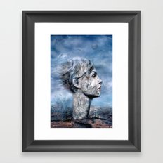 Der Windsturm ! (Solo) Framed Art Print
