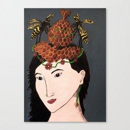Hornet Hive Canvas Print