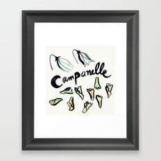 Campanelle | 100 Days of Cookbook Spots Framed Art Print