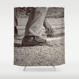 Clean Plate Shower Curtain
