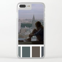Charlotte Window Tokyo View Clear iPhone Case