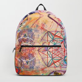 Hindu Geo Psych Backpack