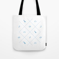 Simple Space Tote Bag