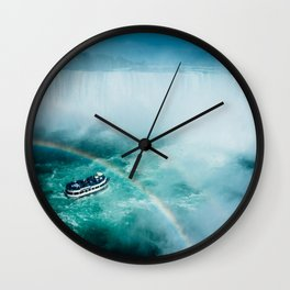 Niagara Falls Rainbow Wall Clock