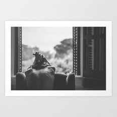 I crave the side of you that you don't show to anyone else Art Print