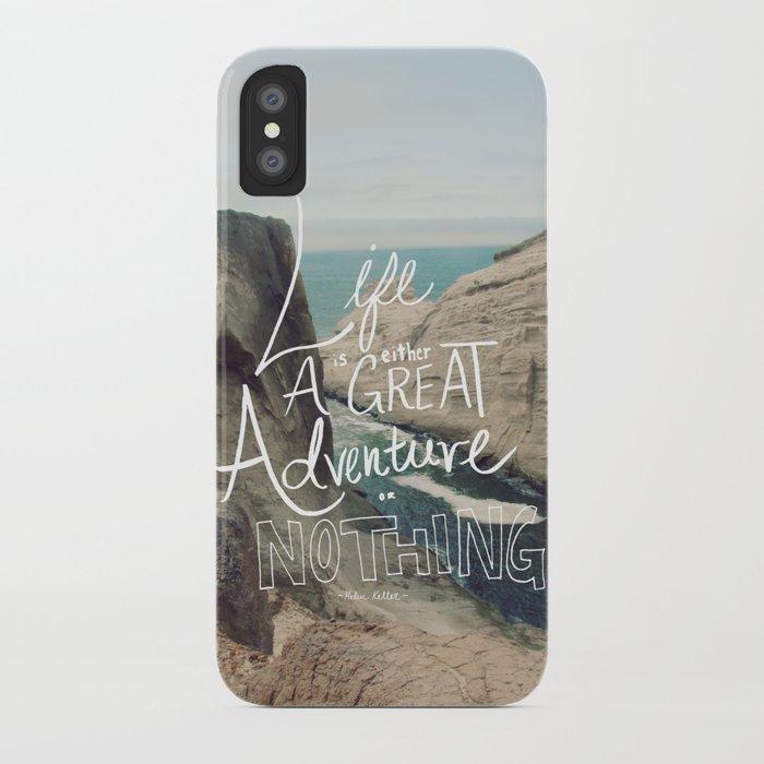 Great Adventure iPhone Case