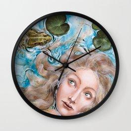 Ophelia Amphibian Wall Clock