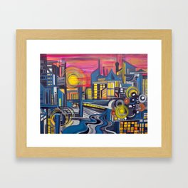 Tropicopolis Framed Art Print