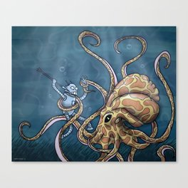 The Great Below Canvas Print