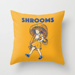 Srooms Throw Pillow