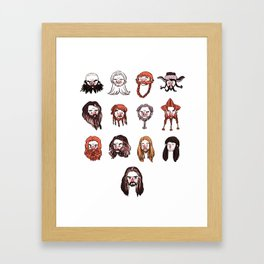 Just Dwarves Framed Art Print