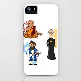 Religious Icons iPhone Case
