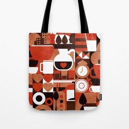 Coffee Story Tote Bag