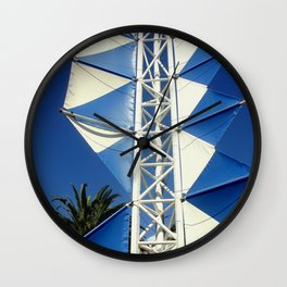 Wind Sails Wall Clock