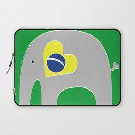 Brazilian Elephant 2 Laptop Sleeve