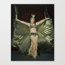 Burlesque Arabesque Canvas Print
