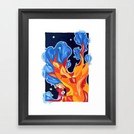 The magic tree Framed Art Print