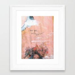 Honeybear Framed Art Print