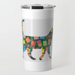 Present Cat Travel Mug