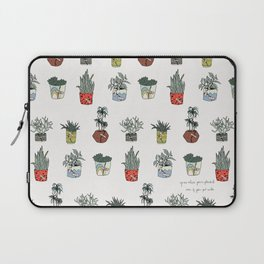 Grow Where You're Planted Laptop Sleeve