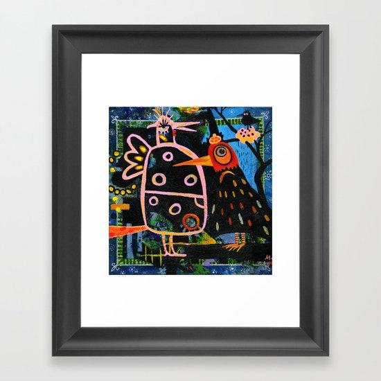 spring bazaar Framed Art Print