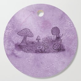 Fungi Meadow Cutting Board
