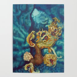 Wilting in Winter Poster