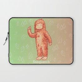 Sasquatch - Cute Cryptid Laptop Sleeve