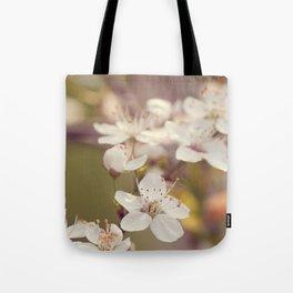 Blooming spring tree Tote Bag