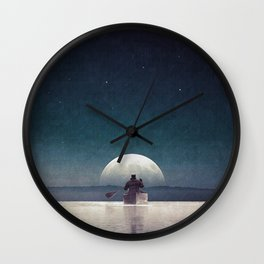 Silent wish... Wall Clock