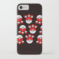 pokeball iPhone & iPod Cases featuring Pokeball Print by UMe Images