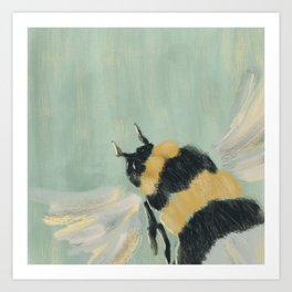 Little Busy Bee Art Print