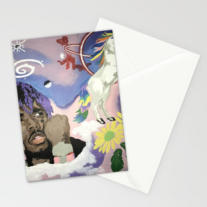 Luv Is Rage Stationery Cards