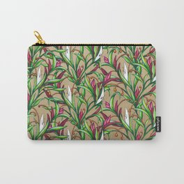 Floral Pattern Carry-All Pouch