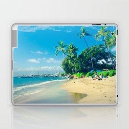 Kamehameha Iki Park Beach Lāhainā Maui Hawaii Laptop & iPad Skin