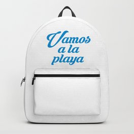 VAMOS A LA PLAYA Backpack